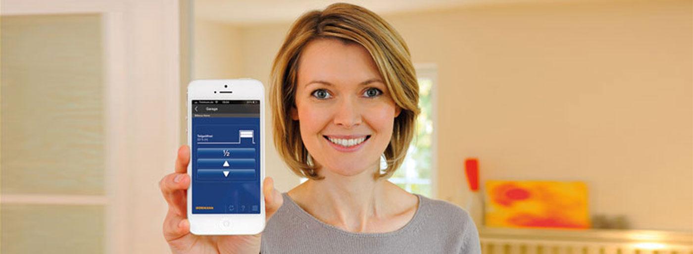 BiSecur Gateway c приложением для смартфона
